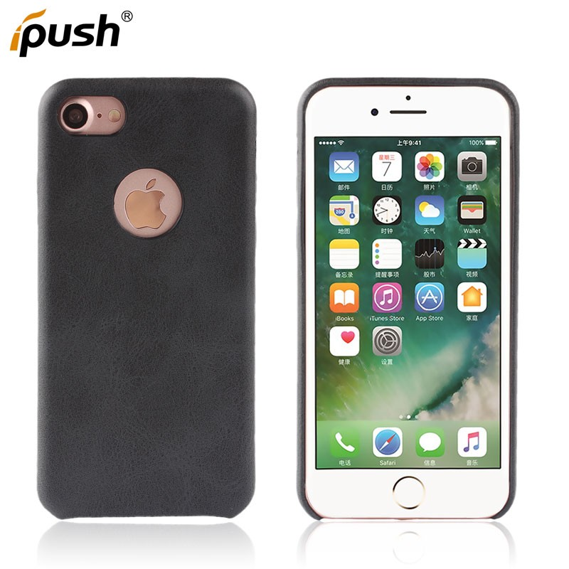 New High Quality Official leather Pattern PU Case for iphone 7 Case