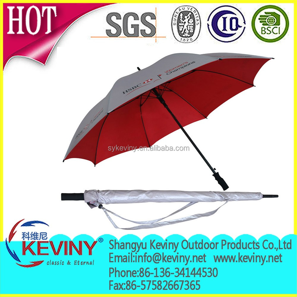 promotional golf umbrella quality frame from chinese umbrella manufacturer china