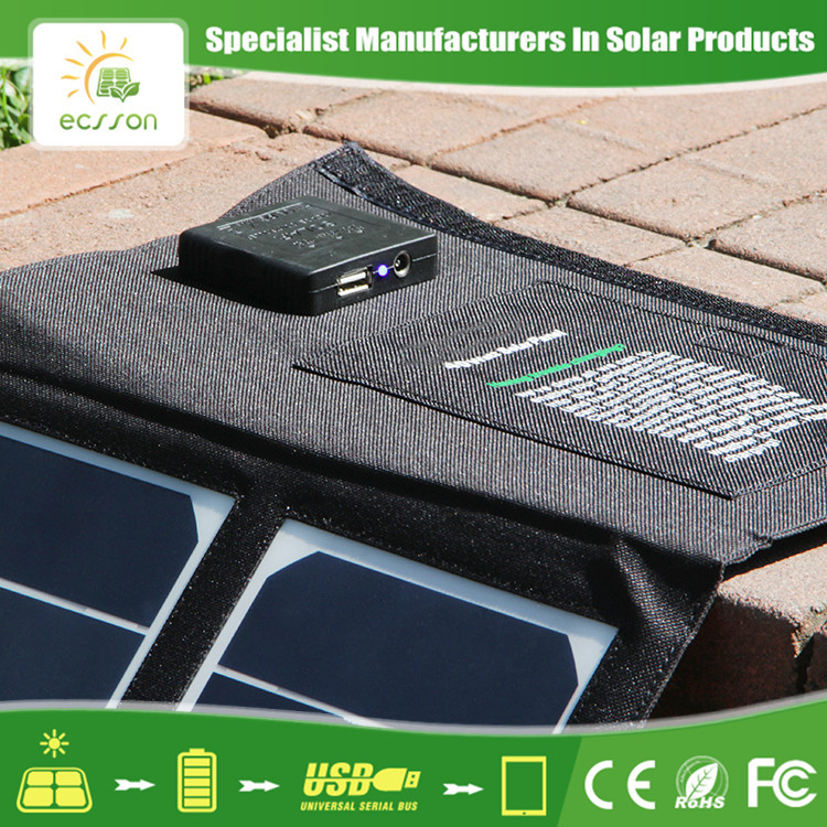 New Aging-resistant 130w folding solar panel