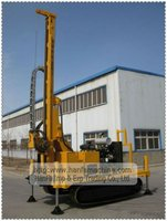 HFW-200 Hydraulic ground source heat pump well drilling equipment,water well drill rig