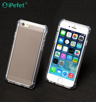 High Quality Crystal Clear Shockproof TPU Bumper Hard Back Covers For iPhone 6/s