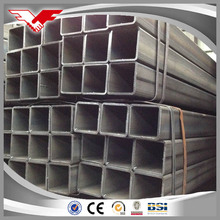 high quality a53 stkr400 100x100 iron square pipe weight of ms square tubes