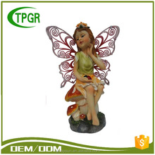 Europe Regional Feature and Figurine Product Type Resin Fairy Ornaments For Home and Garden Decoration