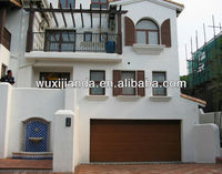 Luxurious Villa Anti-pinch Automatic Sectional Overhead Garage Door/Gate