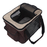 Travel pet carrier bag foldable ventilated pet shopping bag waterproof cute Pet Air Box