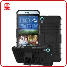 Dual Layer Tough Rugged Kickstand Hard Hybrid Armor Heavy Duty Shockproof Case for HTC Desire 826