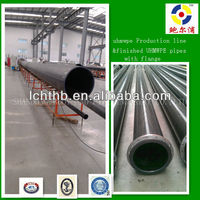 large diameter uhmw pe plastic pipe