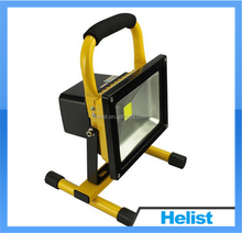20W Portable LED Flood Light Rechargeable 50000 Hours Lifetime with warranty two years