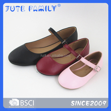 Full size for women and children PU upper flat shoes