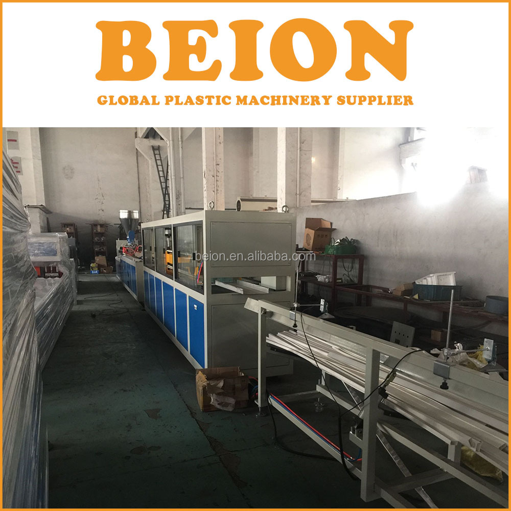 BEION sheet machine PVC/PP/PE/PC/ABS Small Profile Extrusion Line, plastic extrusion profile, profile