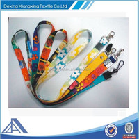 high quality customized heat transfer lanyard