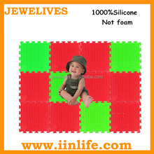 2014 new product silicone crawling floor baby play mat