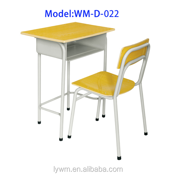 Unique Design Cheap Single School Kids Study Table And