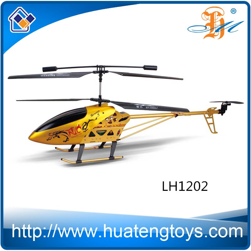 2016 New item 80cm 3.5ch Large metal alloy series rc helicopter with gyro