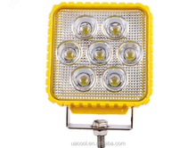 4 inch square 35W working lamp off-road car modified dome LED car headlights light
