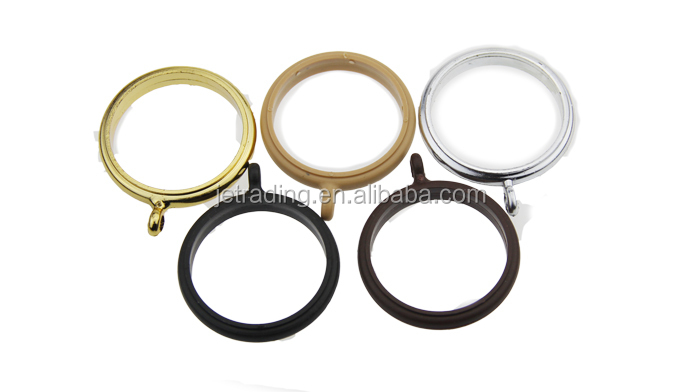35mm window golden curtain pipe