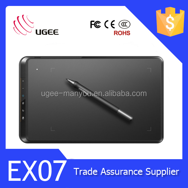 Ugee EX07 8 inch graphic tablet for digital drawing