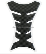 Hot sale fish-bone rubber tank protector motorcycle fuel tank stickers