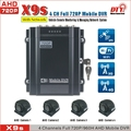 720p ahd recorder vehicle surveillance 4ch 3g mobile dvr with wifi