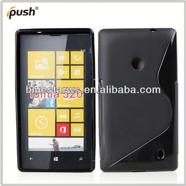 2014 hot sell for nokia lumia 520 tpu case for nokia 520 case