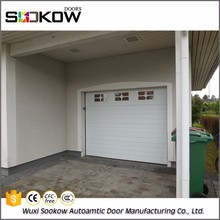 Decorative residential sectional new product aluminum automatic garage door window inserts