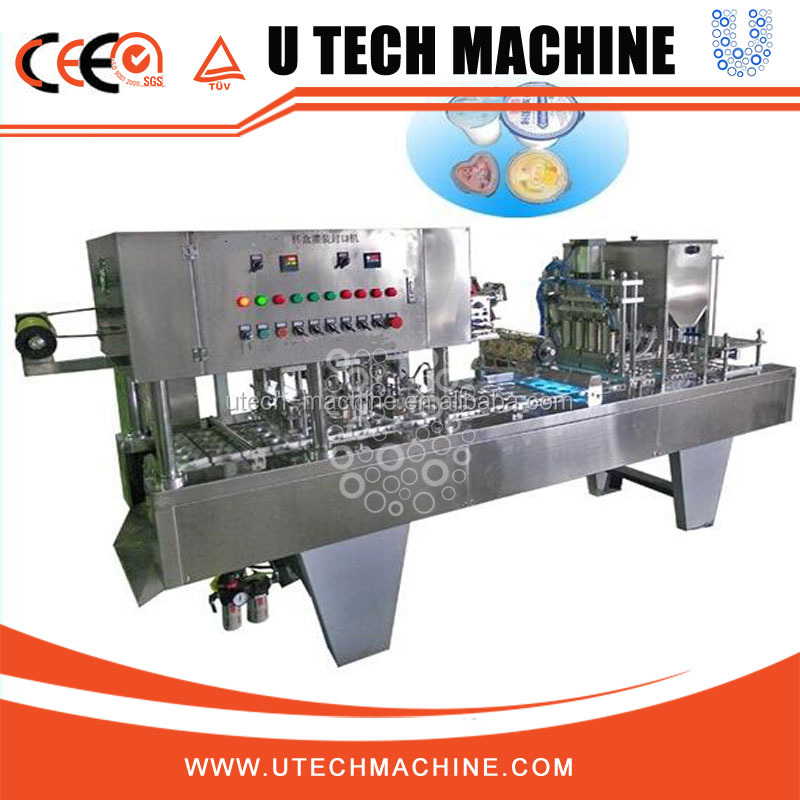 Fully automatic Water Cup filling Sealing Packing machine