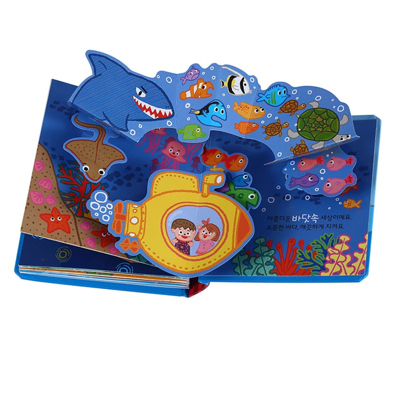 OEM fast delivery interesting pop-up children book printing