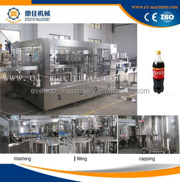 High speed automatic soft drink filling machine manufacturer