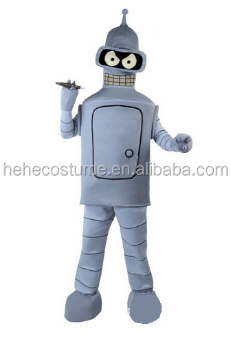 kid bender costume , adult bender costume , kid robot costume