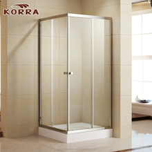 Aluminium profiles shower cubicle sizes ,bath shower enclosures bathroom cabin square shower screen