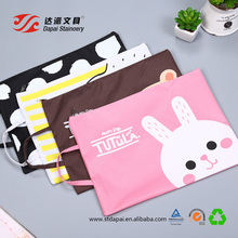 Korean fashion careatIve A4 oxford cloth office supplies student zipper portable file document bags