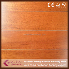 C&L matte smooth Merbau parquet solid wood floors