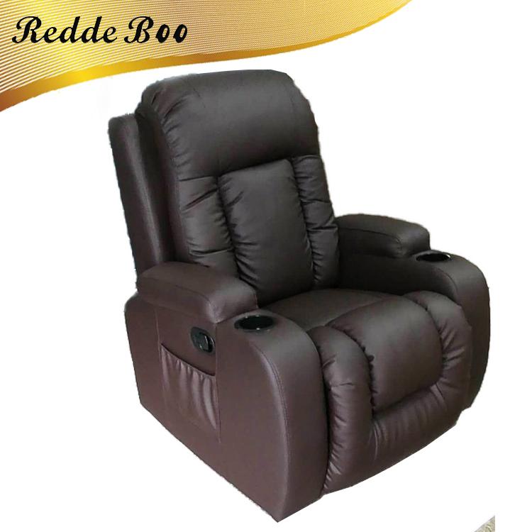 Venta al por mayor sillón reclinable de cuero sofá eléctrico-Compre ...