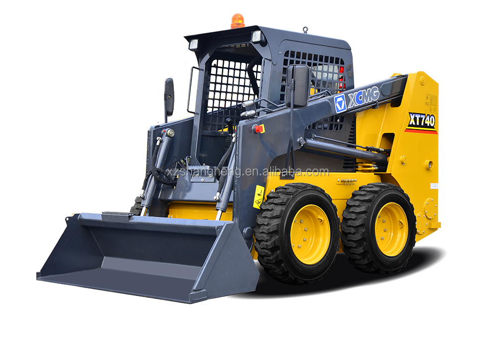 XCMG XT740 Small Skid Steer Loader for sale