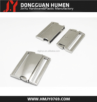 Jinyu high quality customized logo metal buckle/slide belt metal buckle