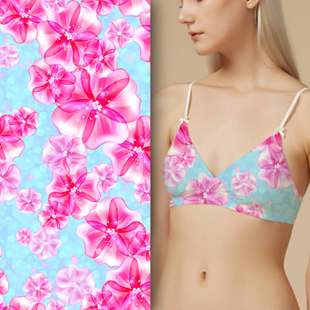 Wholesale digital printed textile printing swimwear fabric