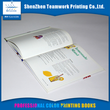 Chinese factory soft cover printing book on sale