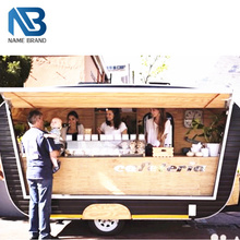 newest shop kiosk mobile bar trailers Bakery food cart truck, used coffee cart, coffee trailer for sale