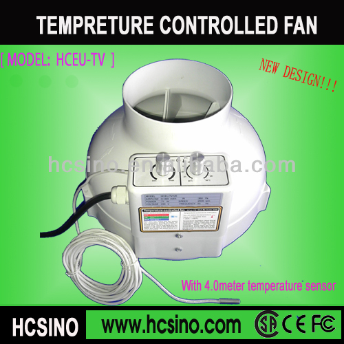 150mm/6 inch plastic circular Inline fan for hydroponics tube connection
