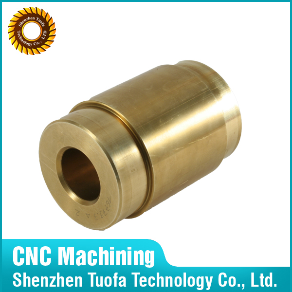 brass tube oem cnc machining with best service copper brass polish
