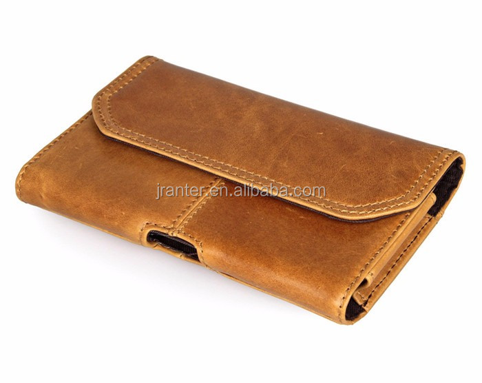 Genuine Leather Phone Flip Case Wallet