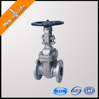 "API 6D API 6A API 600 Stainless steel Class150 1/2""-48"" Gate valve made in China drawing"