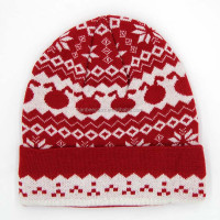 colorful hip hop new fashion winter knitted beanie hat jacquard beanie hat