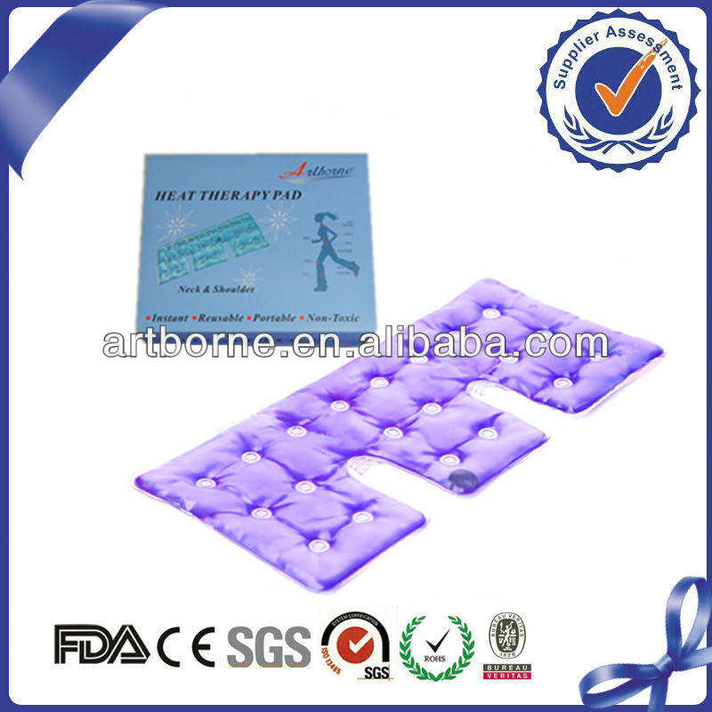 Neck tension relief pad