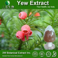 Medical Grade Supplement 100% Natural Yew Extract Powder