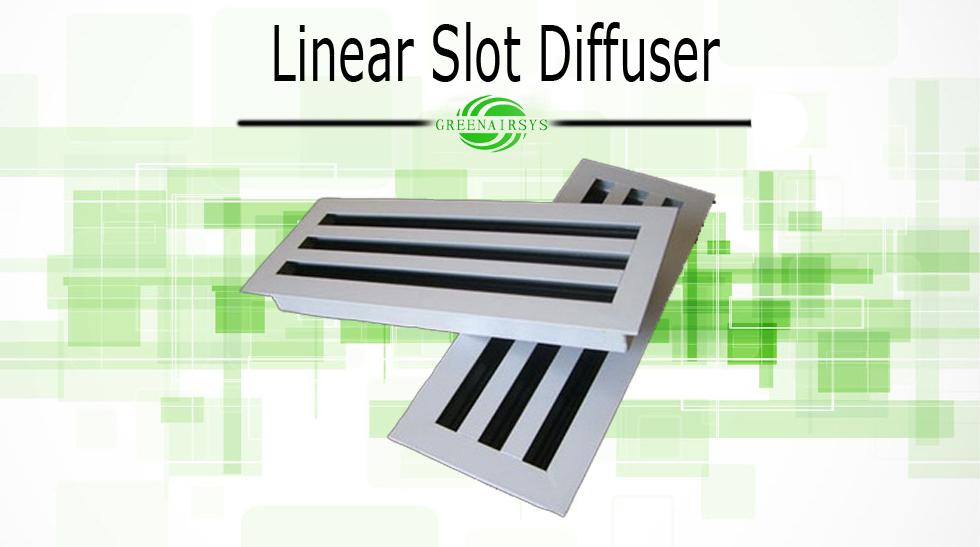 Linear Slot Diffuser 4 : Hvac system aluminum linear slot air diffuser expansion