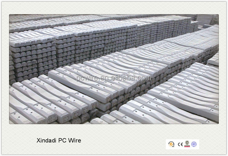7mm pc steel wire for railway sleeper suppliers