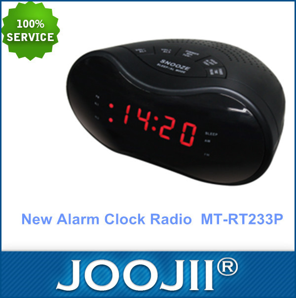 New Hot Selling Hotel Alarm Clock Radio AM/FM Red Display