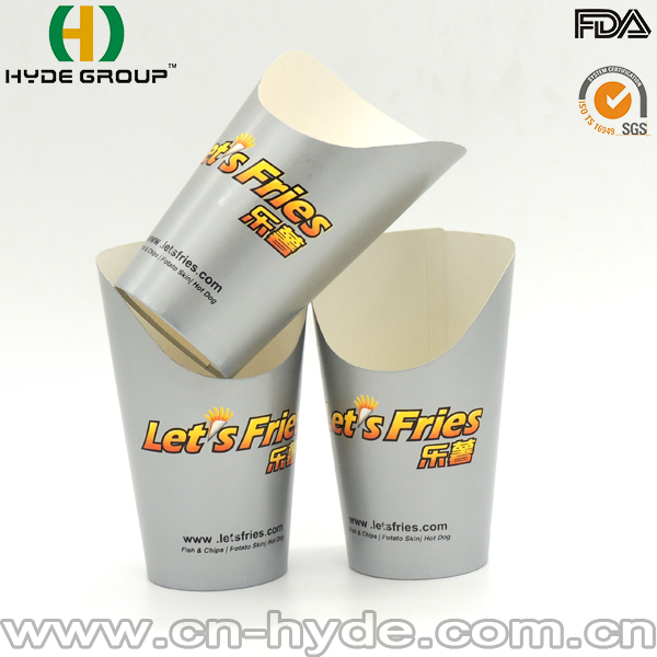 Fancy and Beautiful Custome Printed French Fries Paper Cup