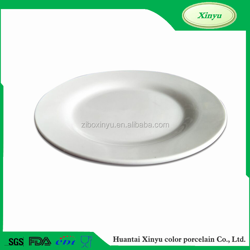 Exquisite workmanship ceramic pie heater plate wholesale